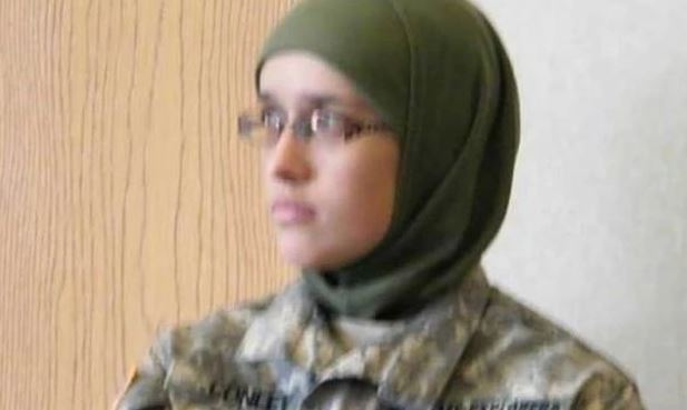 And Conley when she went to a US army cadet camp to learn basic military skills